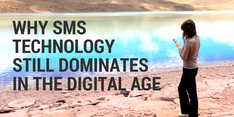 why does sms still dominate mobile