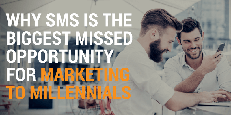 sms marketing to millennials