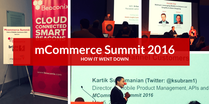 mcommerce summit 2016