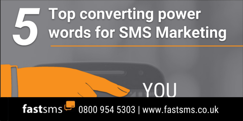 5 Top Converting Power Words for SMS Marketing | Fastsms