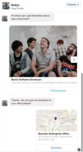 chatbot-facebook-exemple-esendex