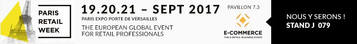 E commerce paris retail week 2017