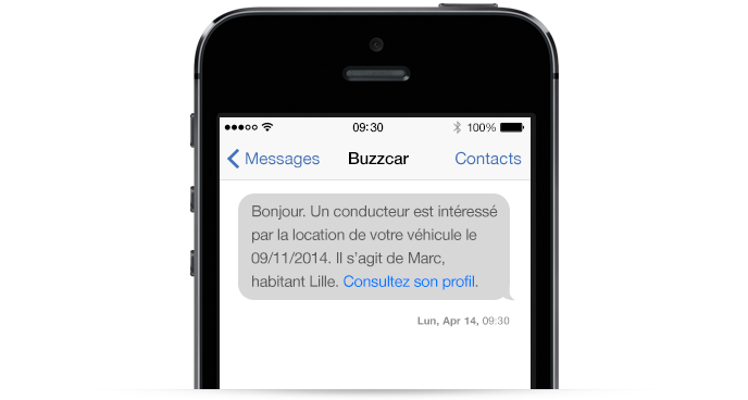 notification par SMS via API depuis un site internet