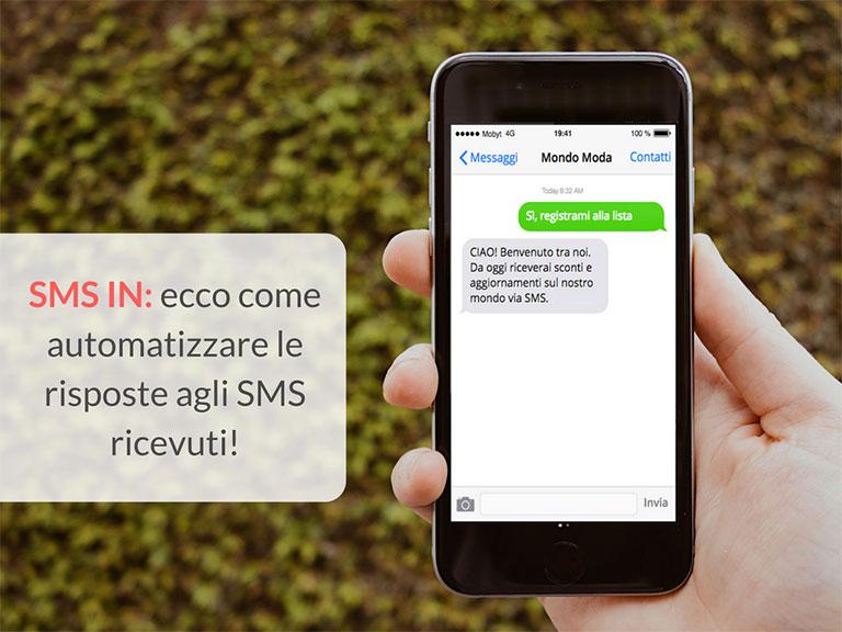 SMS automatici di risposta