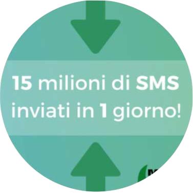 Il 2017 di Mobyt - 15 milioni di SMS inviati in un giorno
