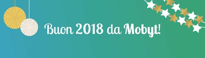 Il 2017 di Mobyt - Buon 2018 da Mobyt