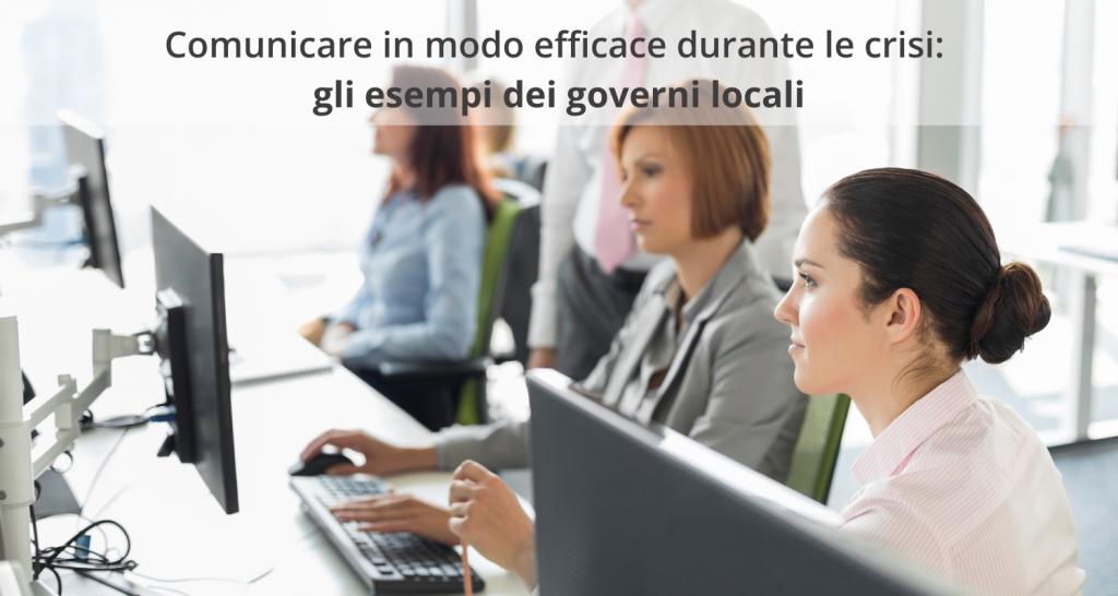 Gestire le emergenze - Autorità e governi locali
