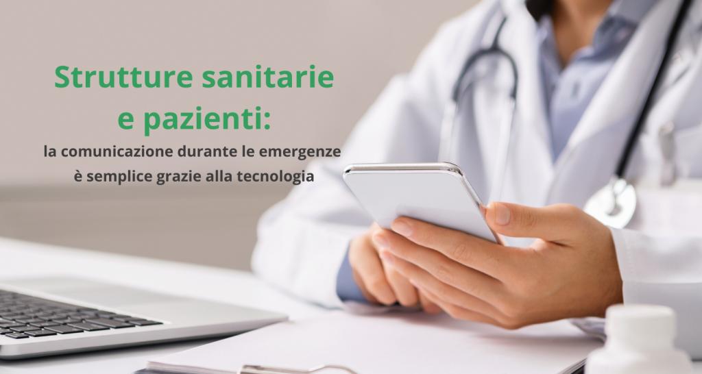 Come le strutture sanitarie comunicano in emergenza grazie alla tecnologia