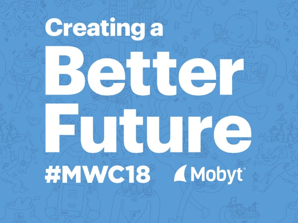 Creating a better future - MWC18 Mobyt SMS