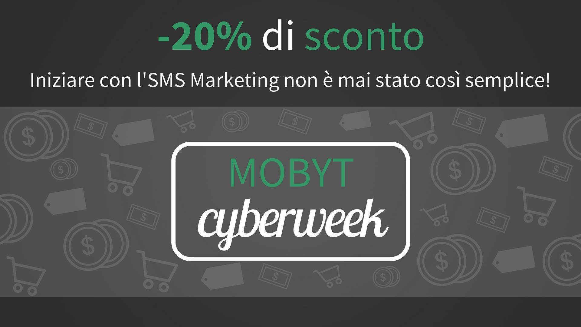 Cyber Week Mobyt - promo 20