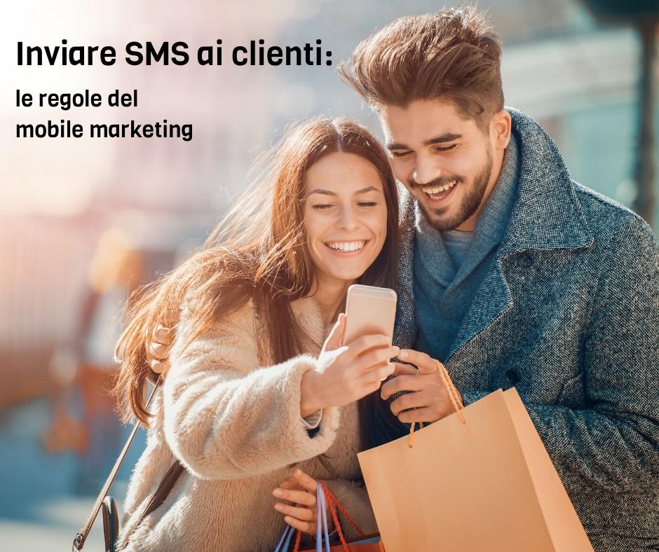 Inviare SMS a clienti
