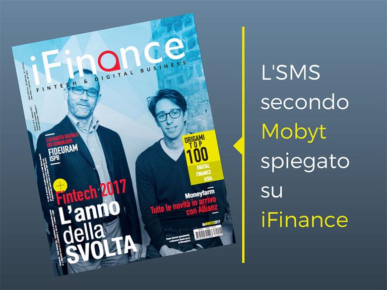 SMS banking - Mobyt su iFinance