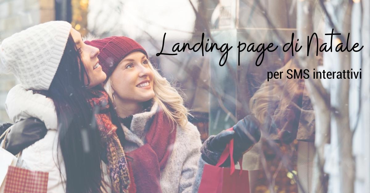 Landing page natalizie