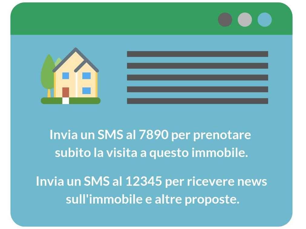 SMS marketing per agenzie immobiliari - dettaglio pagina web