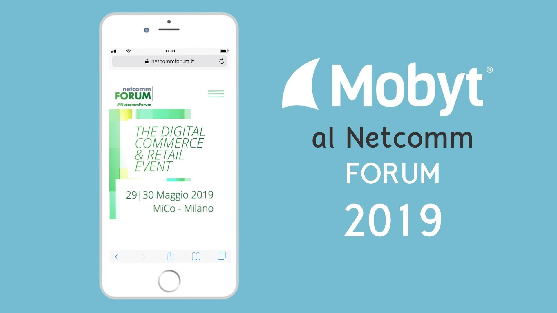 Mobyt al Netcomm Forum 2019
