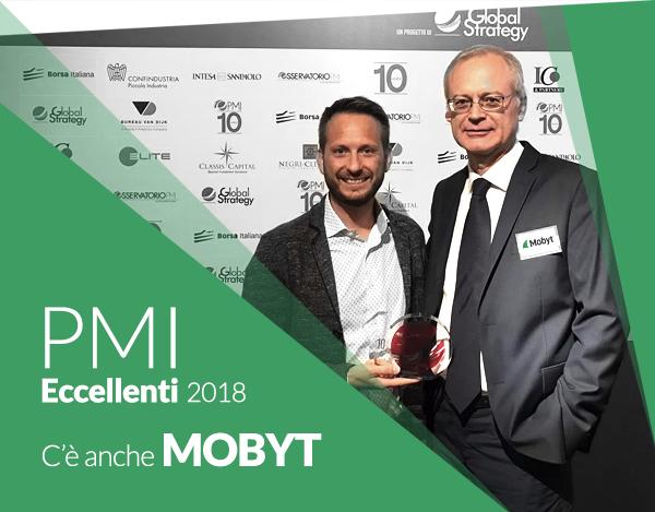 Mobyt tra le aziende PMI eccellenti italiane