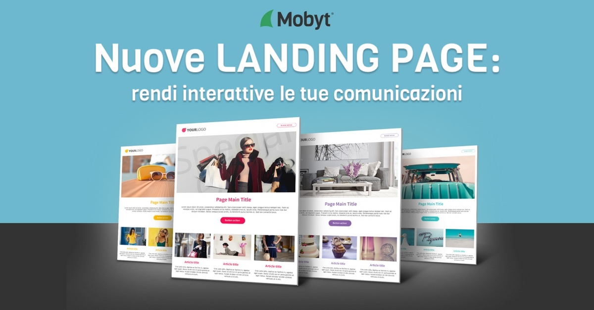 Nuove landing Page Mobyt