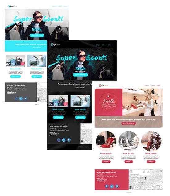 nuovi template landing page promozionali