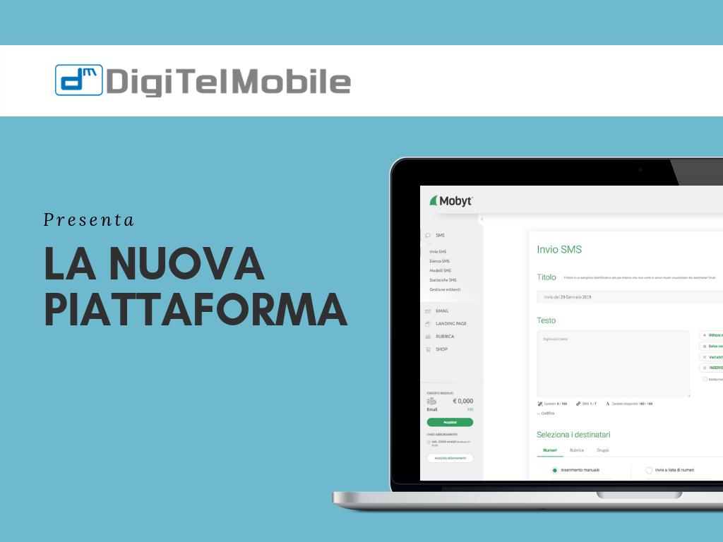la nuova piattaforma Digitel Mobile
