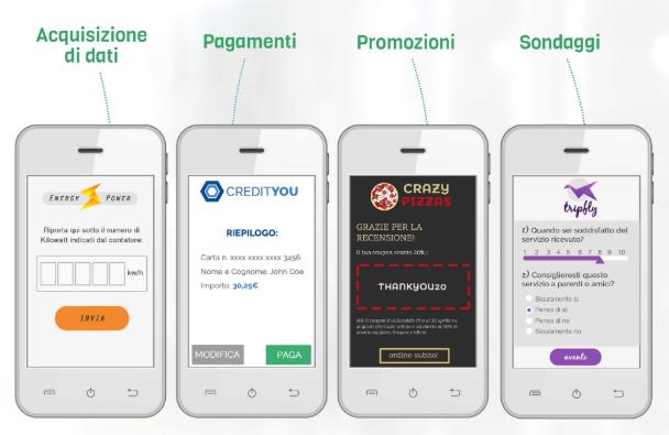 SMS per le società di gas e luce - Mobile Journey