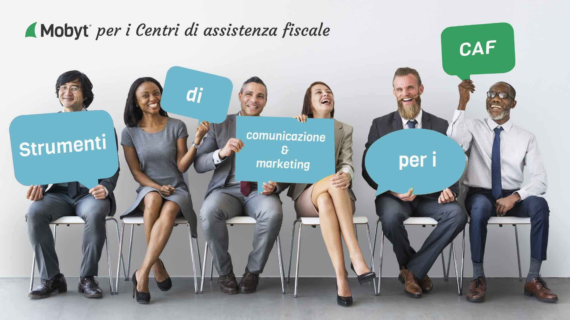 Strumenti di comunicazione e marketing per CAF