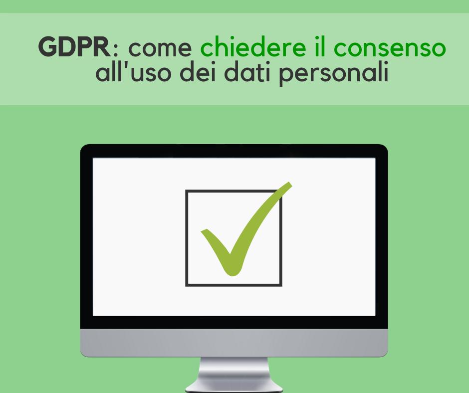 Uso dei dati personali GDPR