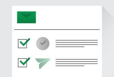 invio email
