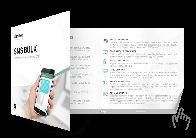 brochure servizio SMS bulk