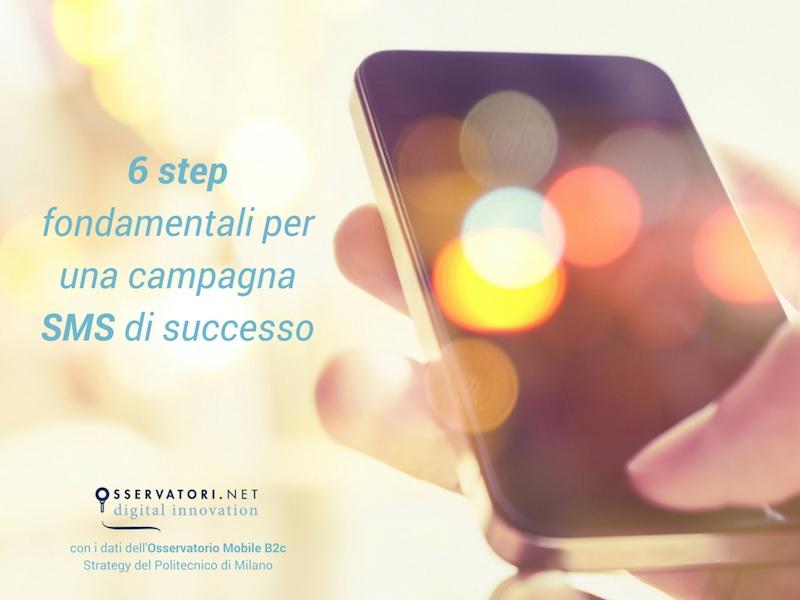 i 6 step fondamentali per una campagna di SMS marketing