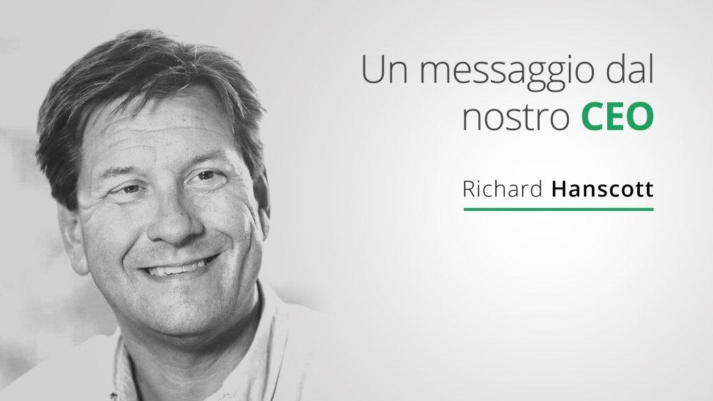 messagio dal nostro CEO