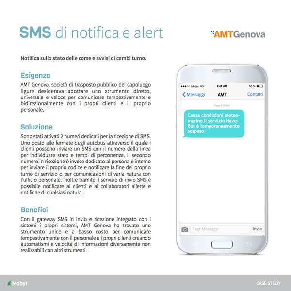 Presentazione SMS Alert - AMT Genova
