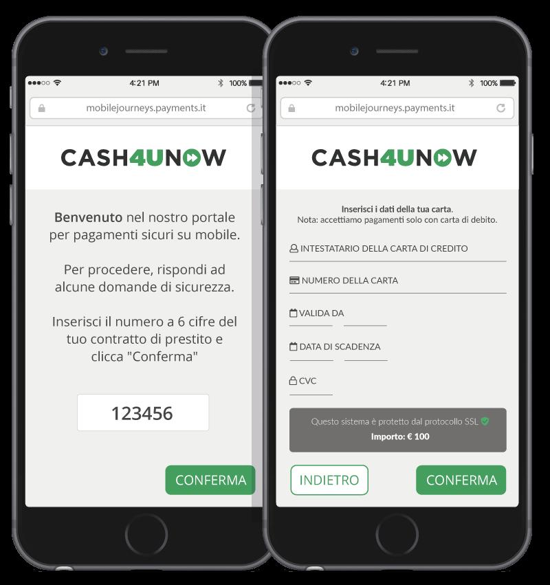mobile payments - esempio settore finanziario