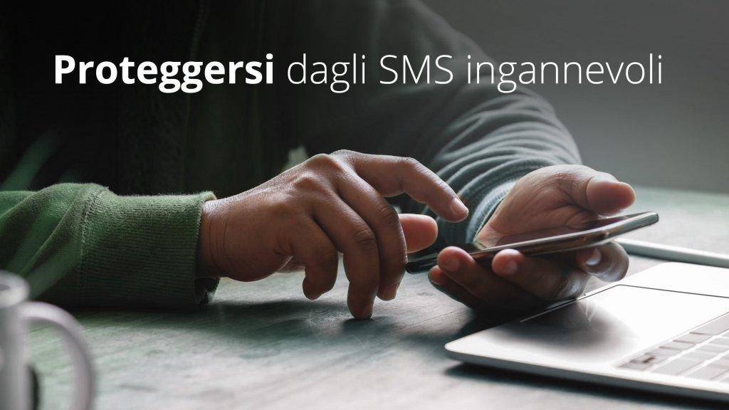 proteggersi dagli SMS ingannevoli