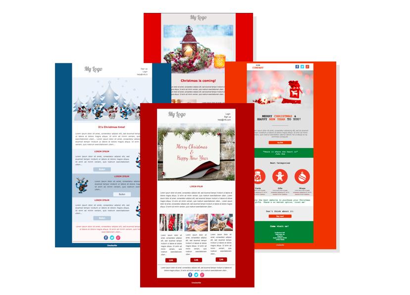 templates natalizi per capagne email