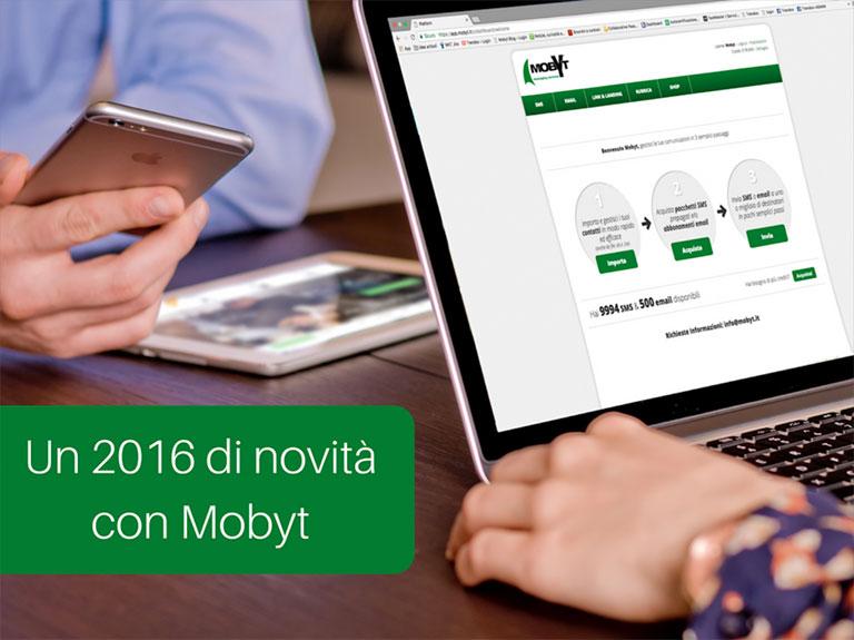 il 2016 con Mobyt