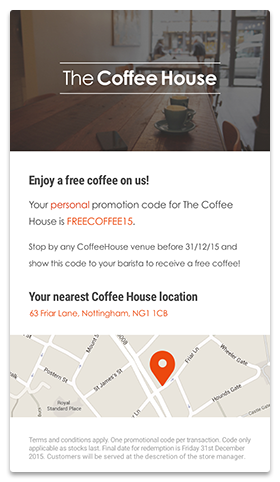 Mobile Journey - Coffee House