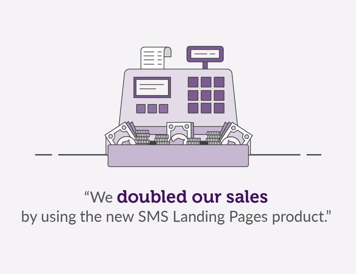 Moy Furniture Landing Page stats
