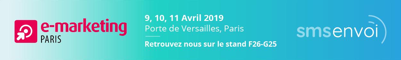 Venez rencontrer l'équipe de SMSEnvoi à Paris.