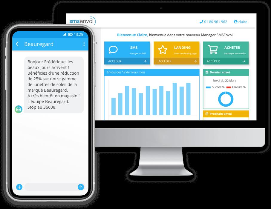 Découvrez la nouvelle plateforme de SMSEnvoi pour vos SMS