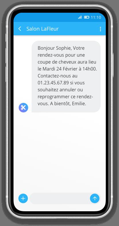 rendez-vous sms