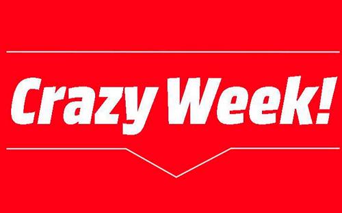 Crazy week et envoi de sms