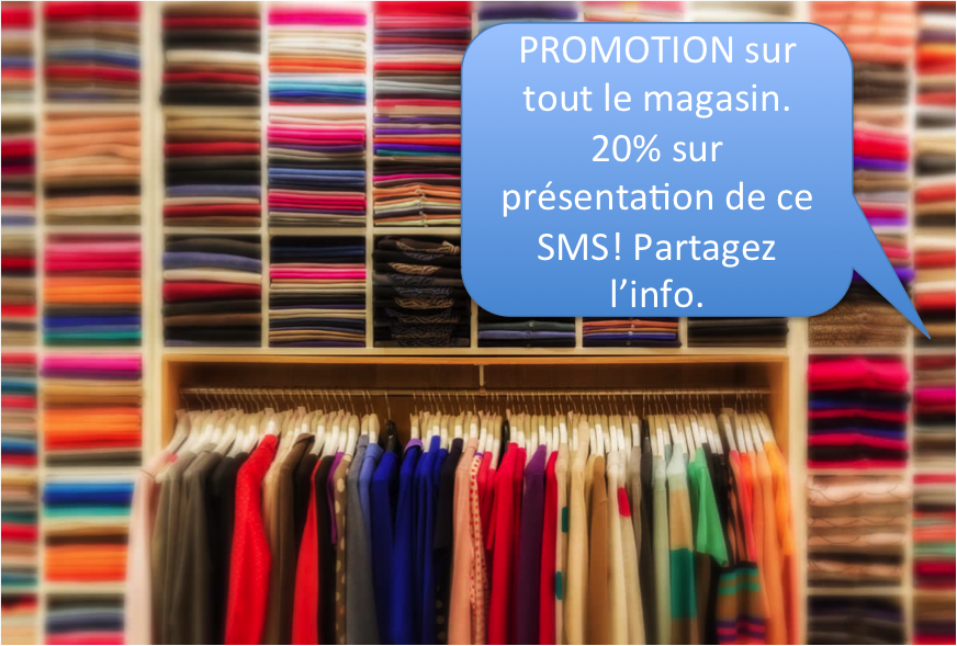 SMS Marketing pour boutique