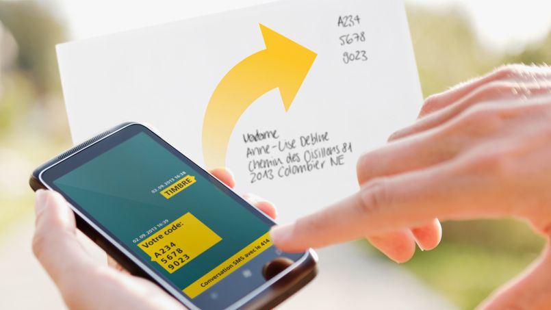 timbre par envoi de SMS