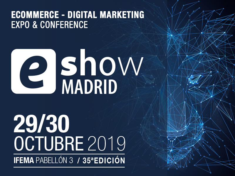 Cartel del eShow Madrid 2019