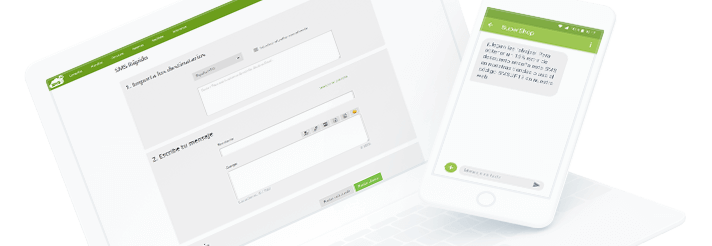 Ejemplo de plataforma de envío de SMS para empresas
