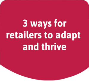 TextAnywhere eBook cover: 3 ways for retailers to adapt and thrive post COVID-19