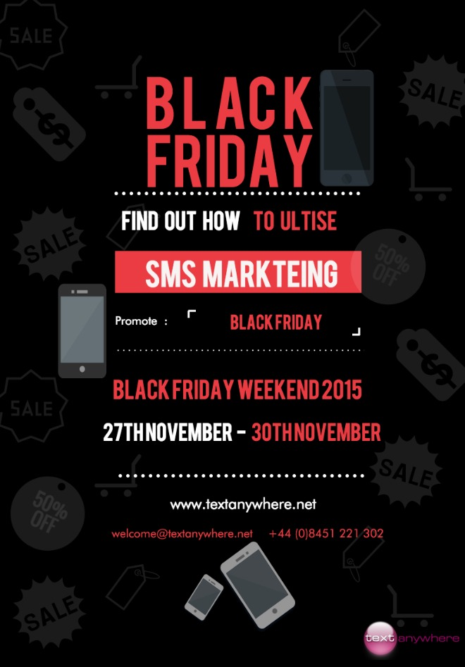 How to use SMS marketing for Black Friday 2015