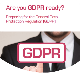 TextAnywhere eBook cover: Are you GDPR ready?