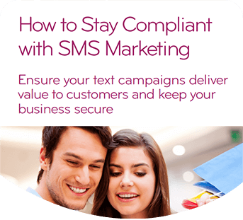 Cover of TextAnywhere's How to stay compliant with SMS marketing guide