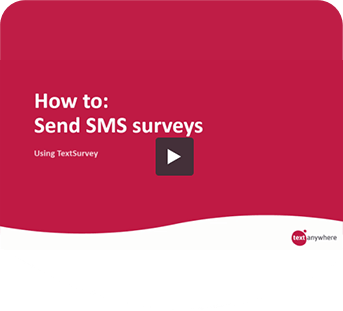 How to video: Send SMS surveys cover